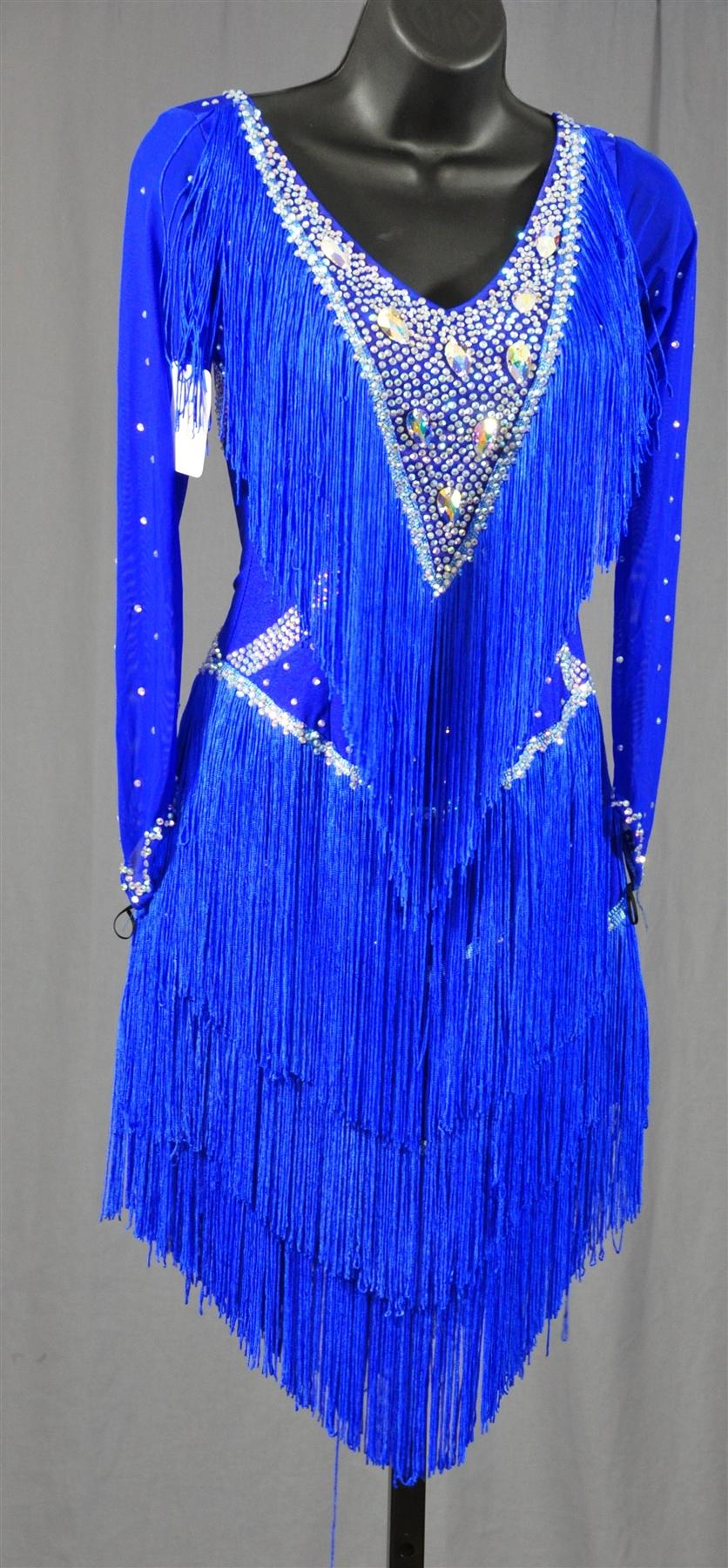 Fringe Dresses With Sleeves