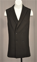 Men's Ballroom Double Buttons Long Vest