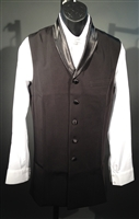 Men's Ballroom Five Buttons Long Vest