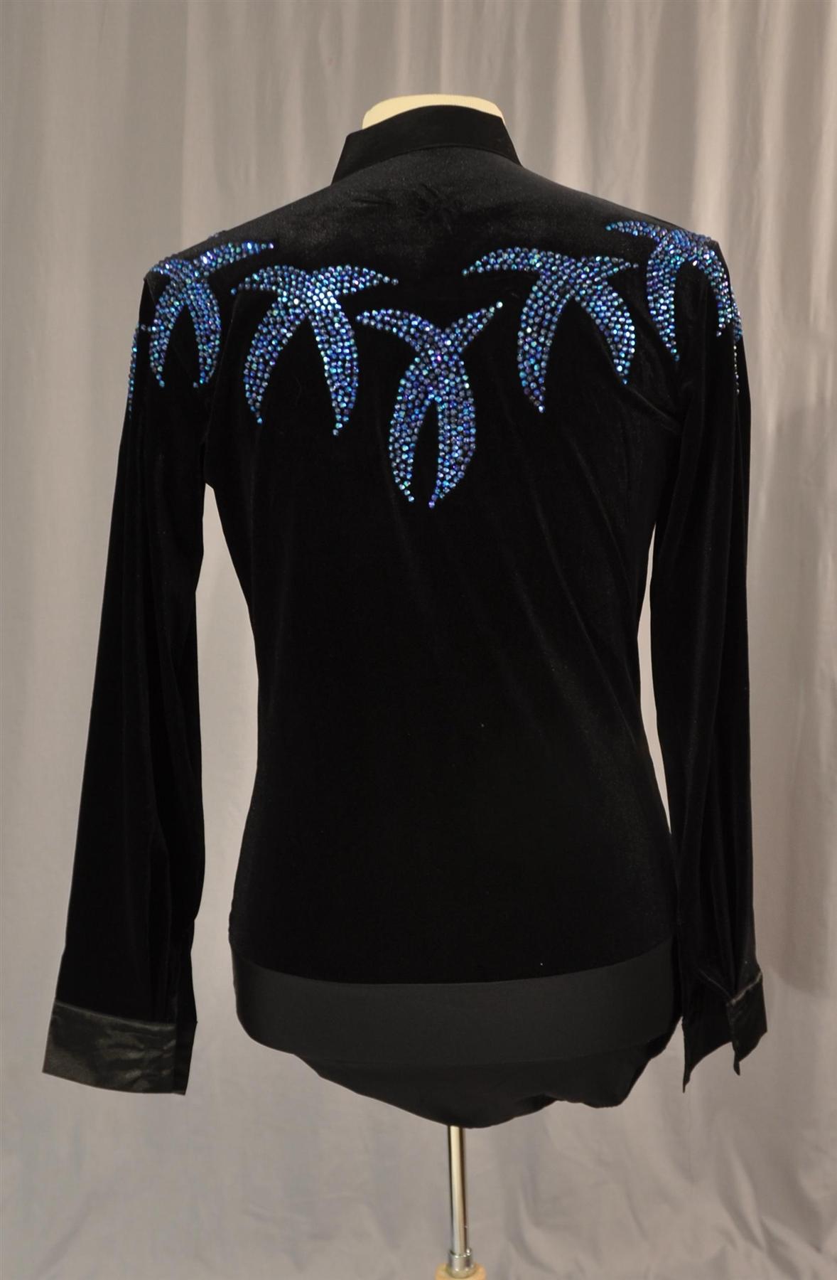 Mens Latin Dance Shirt 105