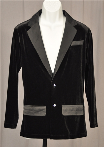 Men's Velvet Wear Out Jacket