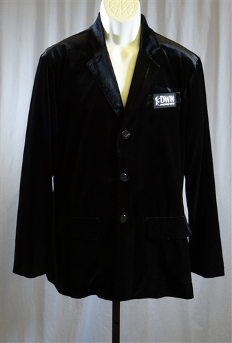 Men's 3 Buttons Velvet Jacket