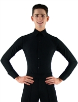 Men's Ballroom Smooth Dance Shirt