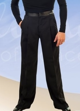 Men S Plain Black Ballroom Amp Latin Pants