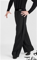 Men's Velvet Waist and Side Band Dance Pants