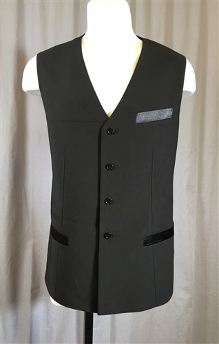 Men's Ballroom Long Vest
