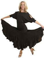 Long Wave Skirt with build-in under pants