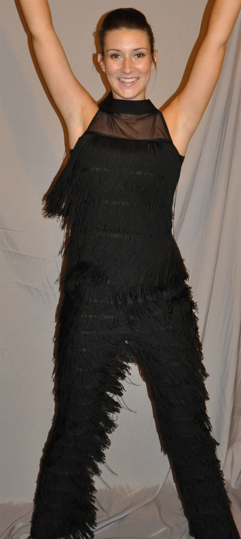 fringe dance pants
