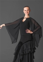 Butterfly Sleeves Dance Top