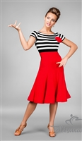 Fun & Elegant Wired Skirt Latin Dress
