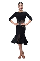Elegant Latin Dance Dress