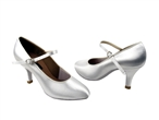 Competitive Rounted Toe Ballroom Dance Shoes