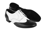 5 Eye Lace Lether Ballroom Dance Shoes