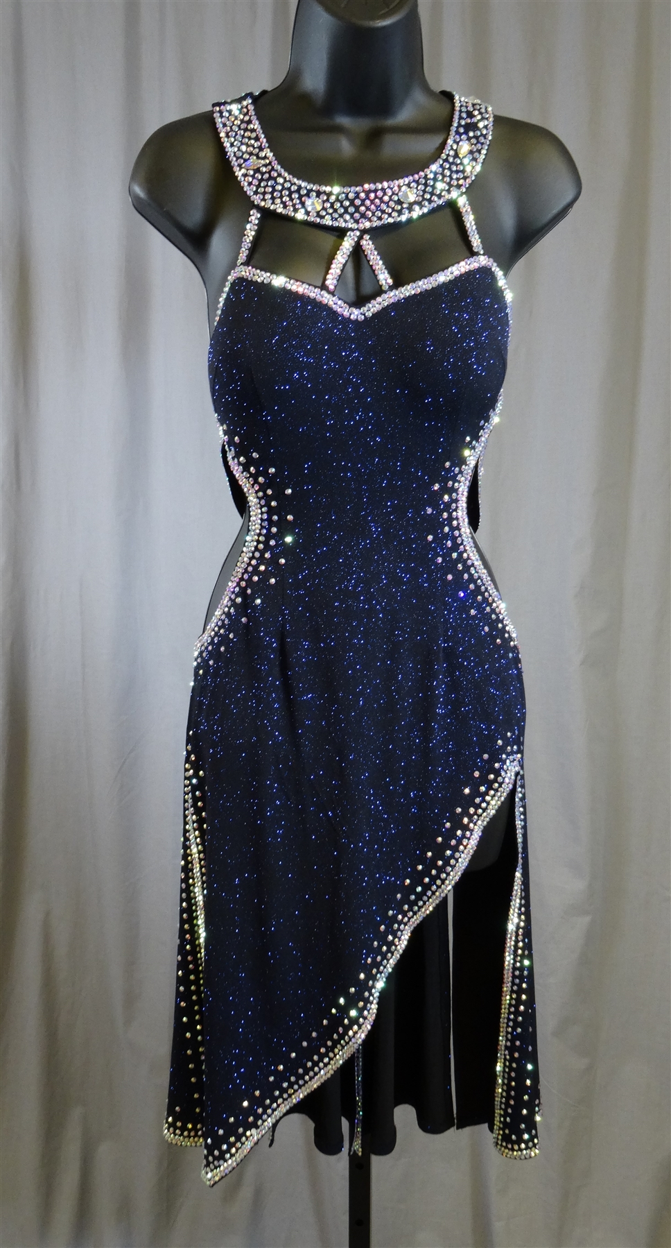 Blue Sequin Dress What Shoes To Wear
