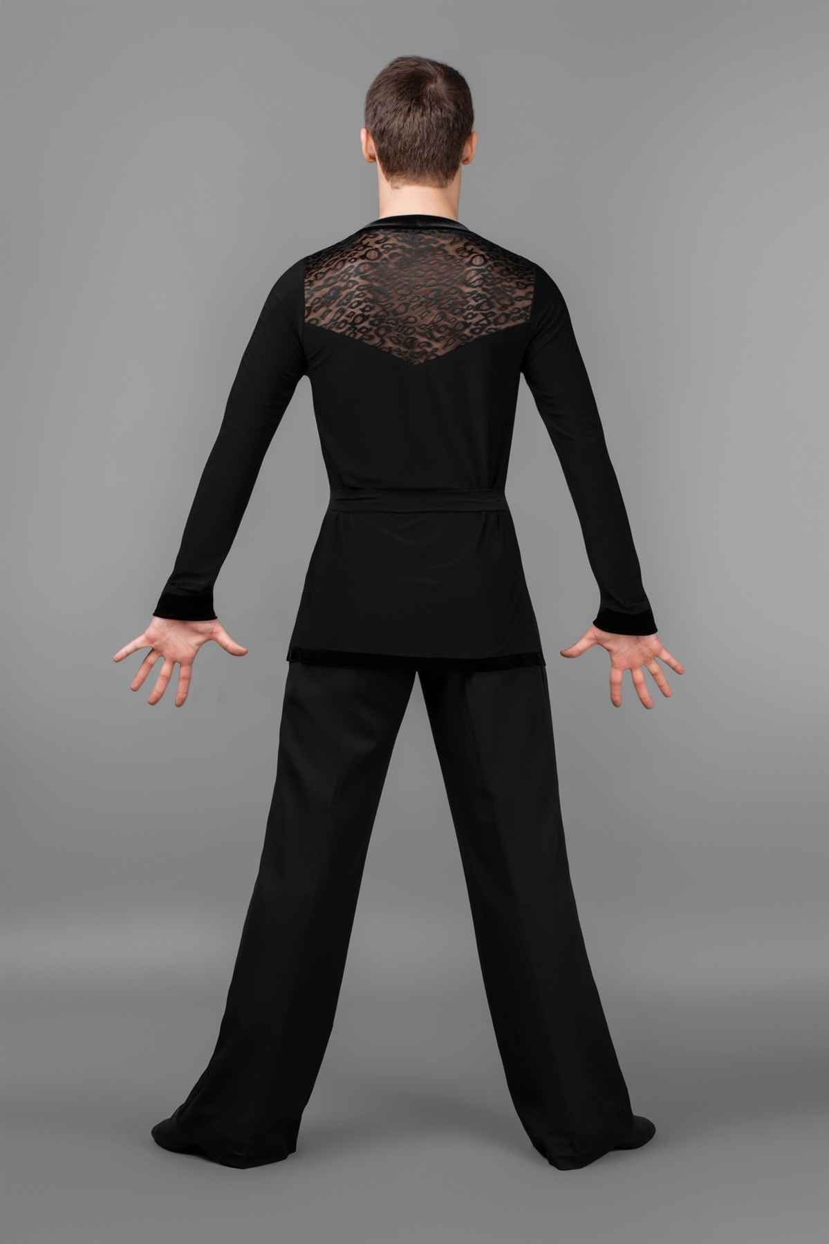b8158495b Men's Wear Out Latin Dance Shirt